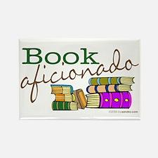 Book Aficionado Rectangle Magnet