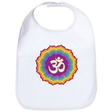 Seven Chakras Colors Bib