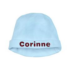 Corinne Santa Fur baby hat