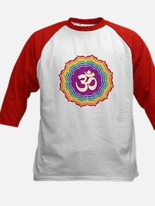 Seven Chakras Colors Baseball Jersey