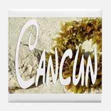 CANCUN Tile Coaster
