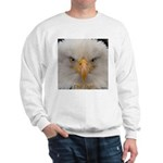 Chill Out Bald Eagle Portrait  Sweatshirt