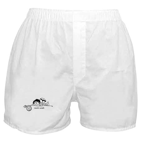 Suck Sand Volleyball Boxer Shorts