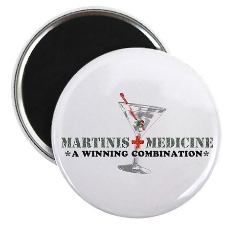 """Martinis & Medicine"" Magnet"