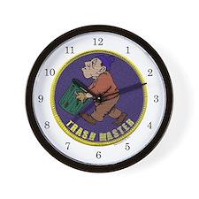 Trashmaster Award Wall Clock