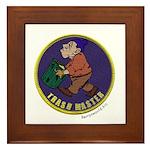 Trashmaster Award Framed Tile