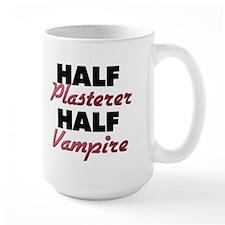 Half Plasterer Half Vampire Mugs