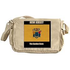 New Jersey Flag and Slogan, the Gard Messenger Bag