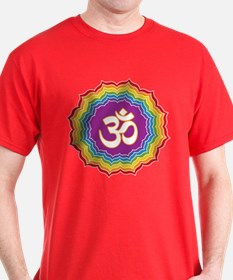 Seven Chakras Colors T-Shirt