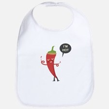 I'm Hot - Chili Bib
