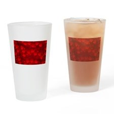 heart cluster Drinking Glass