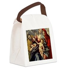 El Greco - Holy Family, 1592 Canvas Lunch Bag