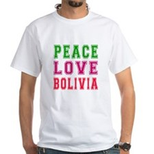Peace Love Bolivia Shirt
