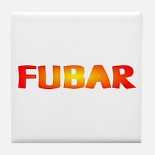 FUBAR ver2 Tile Coaster