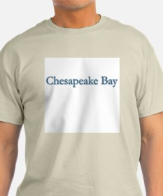 Chesapeake Bay Ash Grey T-Shirt
