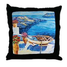 Greek Painting Throw Pillow