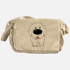 Big Nose Great Pyrenees Messenger Bag
