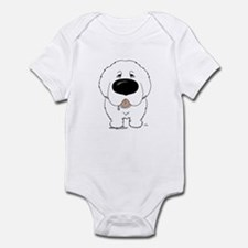 Big Nose Great Pyrenees Infant Bodysuit