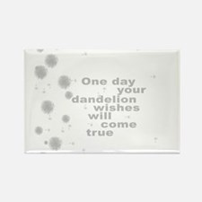 Dandelion Wishes Rectangle Magnet