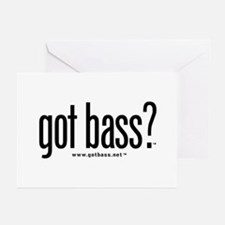 got bass?  Greeting Cards (Pk of 10)
