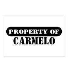Property of Carmelo Postcards (Package of 8)