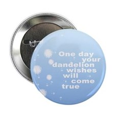 Dandelion Wishes Button