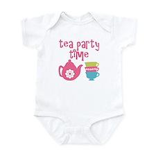 Tea Party Time Body Suit