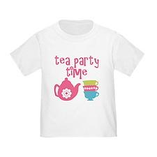 Tea Party Time T-Shirt