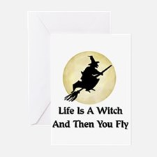 Classic Witch Saying Greeting Cards (Pk of 10)