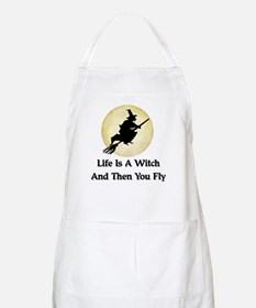Classic Witch Saying BBQ Apron