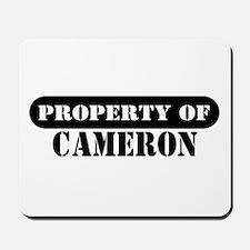 Property of Cameron Mousepad