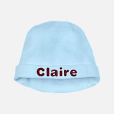 Claire Santa Fur baby hat