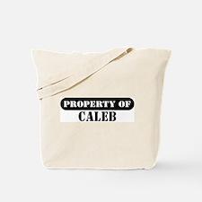 Property of Caleb Tote Bag