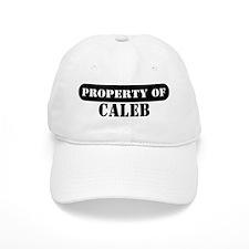 Property of Caleb Baseball Cap