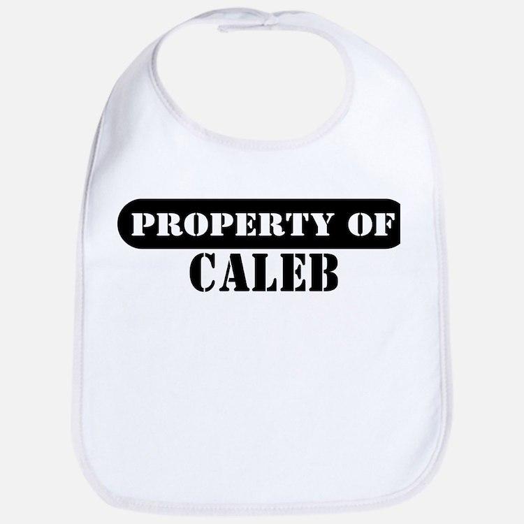 Property of Caleb Bib