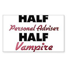 Half Personal Adviser Half Vampire Decal