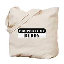 Property of Buddy Tote Bag