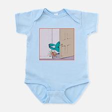 """""""Peeking in on you"""" Infant Bodysuit"""