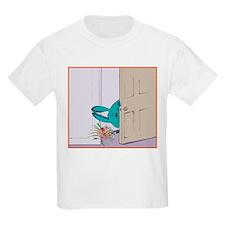 """""""Peeking in on you"""" Kids T-Shirt"""