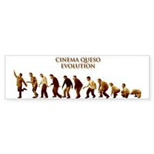 Cinema Queso Bumper Bumper Sticker