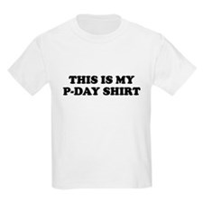 P-DAY SHIRT FUNNY MORMON MISSIONARY T-SHIRT Kids T