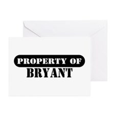 Property of Bryant Greeting Cards (Pk of 10)
