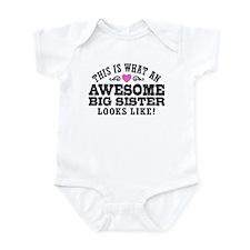 Awesome Big Sister Infant Bodysuit