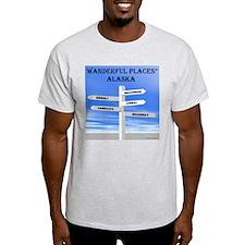 Alaska Ash Grey T-Shirt