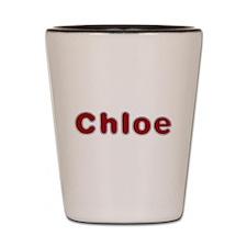 Chloe Santa Fur Shot Glass