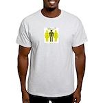 3some Wanna FMF Ash Grey T-Shirt