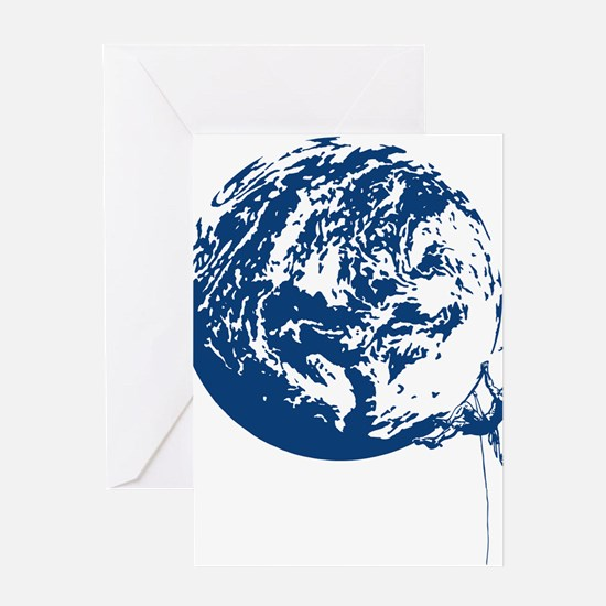 Earth Tribe Climber Greeting Cards