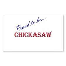 Chickasaw Rectangle Decal