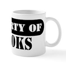 Property of Brooks Mug