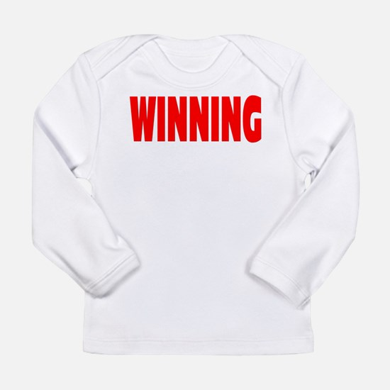 WINNING Long Sleeve Infant T-Shirt